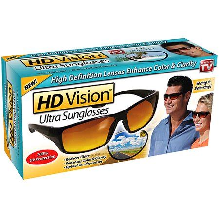 Seen On Tv as seen on tv hd vision ultra sunglasses walmart