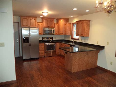 how to finish the top of kitchen cabinets the kitchen of a yorktown i oak cabinets with wheat finish
