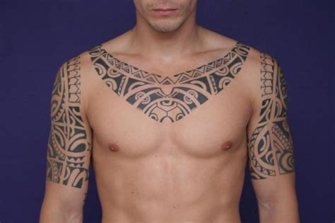tattoo between neck and shoulder shoulder tribal neck tattoo by c jay tattoo