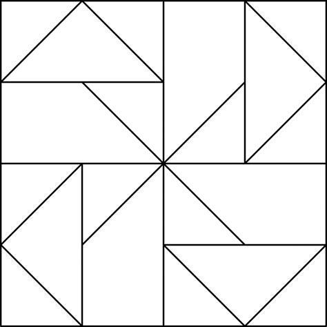 free coloring pages of quilt blocks
