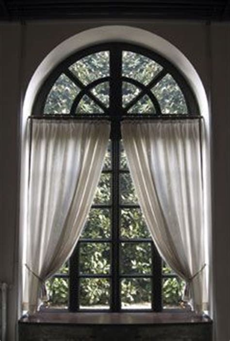 how to dress a large window 25 best ideas about half circle window on