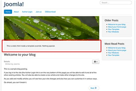joomla category blog layout override overrides the easy way to customize almost everything