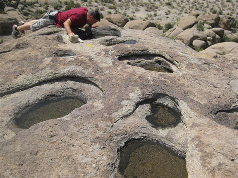 weathering pits backcountry water holes tiny ecosystems outdoor readiness