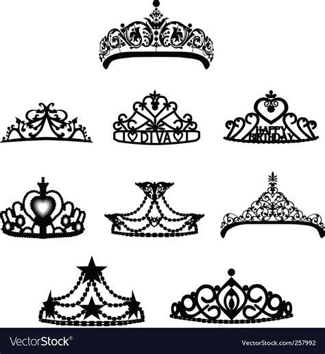 crown tiara royalty free vector image vectorstock