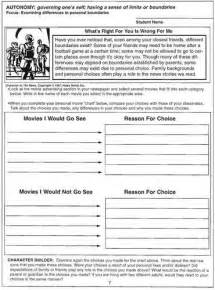 setting boundaries worksheet abitlikethis
