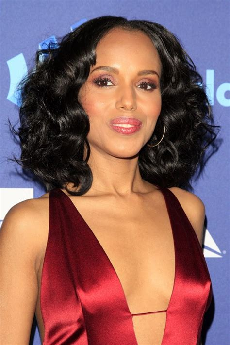 kerry washington hair pin up pin perrie edwards hairstyle genuardis portal on pinterest