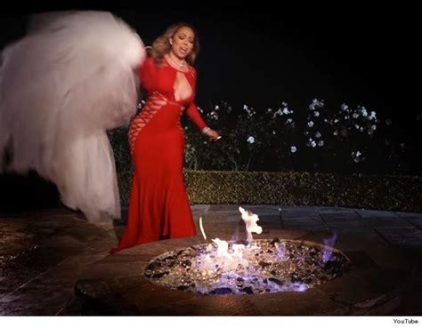 Mariah Carey Burns Dress for Wedding with James Packer