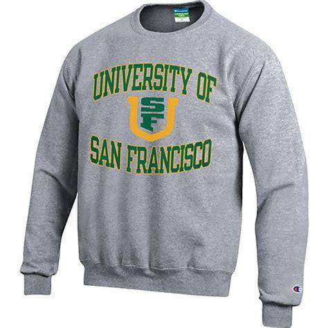 university of san francisco dons crewneck sweatshirt