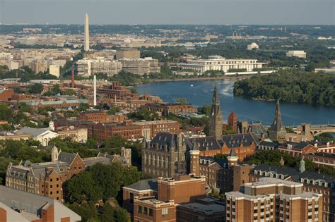 Georgetown Mba Global Ranking by 11 National Universities Where Students Rarely Bring Cars