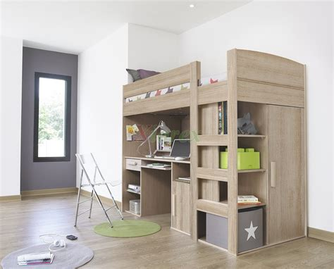 loft bed with storage and desk wooden loft bed with desk and storage plus