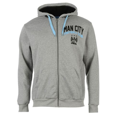 Jaket Hoodie Manchester City 14 source lab mens manchester city football club zip hoody