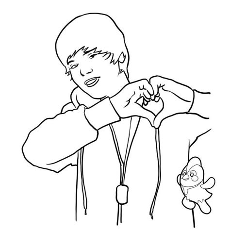 justin bieber coloring pages printable free justin bieber color pages az coloring pages