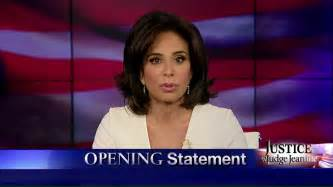 judge jeanine fox news new hair cut judge jeanine blasts obama s thuggish illegal executive