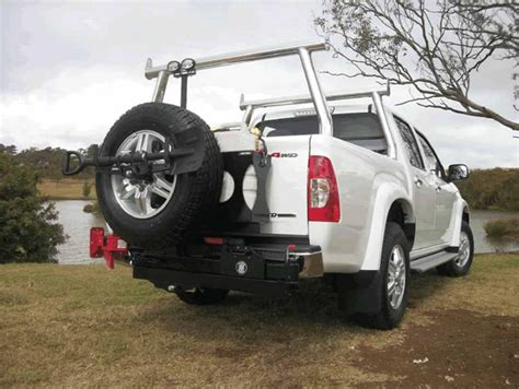 swing wheel universal spare wheel carrier jerry can holder light pole