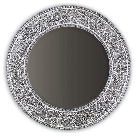 silver wall mirrors decorative decorative mirrors for decorative round framedwall mirror glass mosaic 24