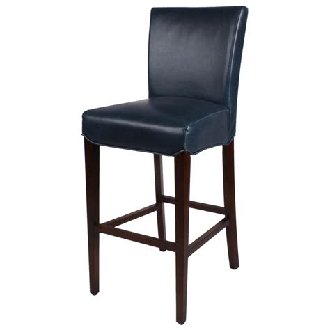 light blue leather counter stools blue leather bar stools erin barstool light blue linen