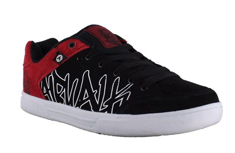airwalk shoes for mens airwalk casual skate lace up padded shoes trainers