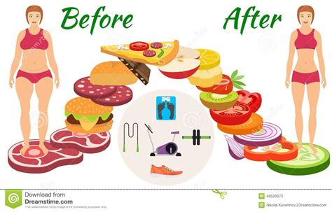 weight management infographic infographic weight loss stock vector image 49520073