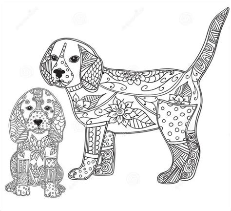coloring pages of dogs for adults 9 puppy coloring pages jpg ai illustrator