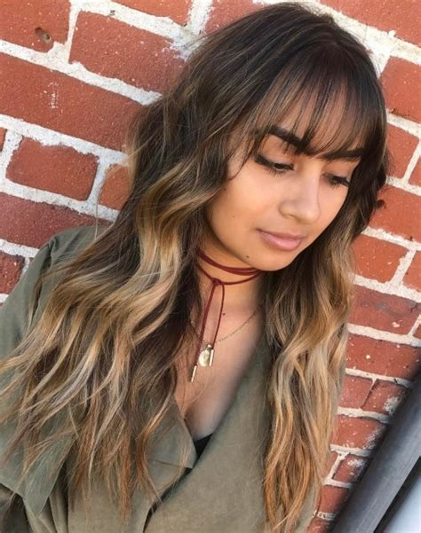hairstyles with light bangs 50 cute long layered haircuts with bangs 2017