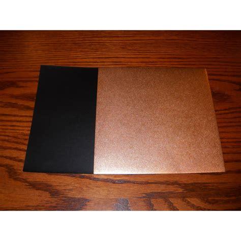 origami paper copper metallic and black washi 150 mm