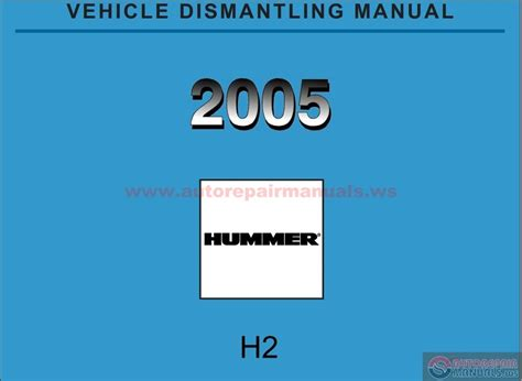 hummer h2 2005 repair manual auto repair manual forum heavy equipment forums download