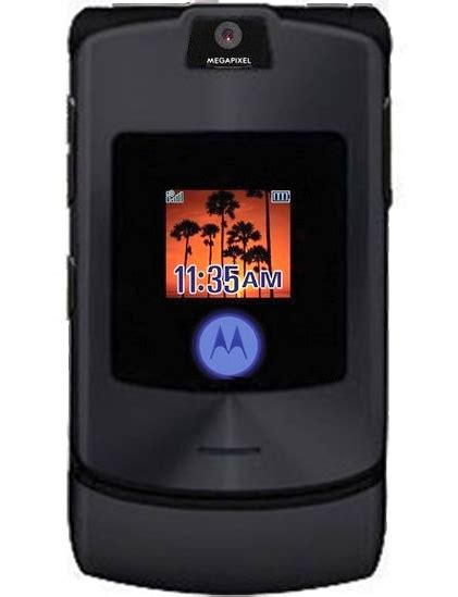 Motorola Razr V3i Brand New Refurbished wholesale motorola v3i black gsm unlocked cell phones