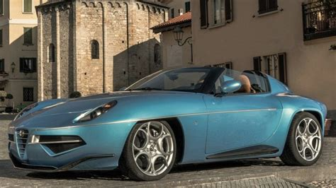 alfa romeo disco volante spider alfa romeo disco volante spider is a in blue autoblog