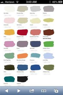 annie sloan chalk paint colors color inspiration