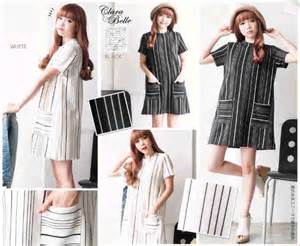 Vlt Longdress Fashion Scuba Hitam dress putih i l o v e f a s h i o n s s