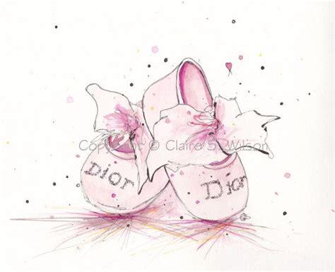 9809 Marina Pink pink baby nursery print 8x10 baby