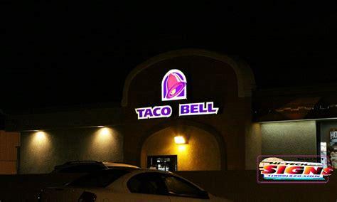 taco bell light menu taco bell light up sign americanwarmoms org