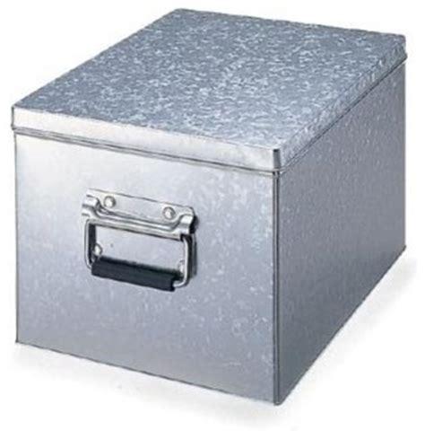 Aqua Bathroom Vanity Tin Box With Lid Modern Storage Bins And Boxes By