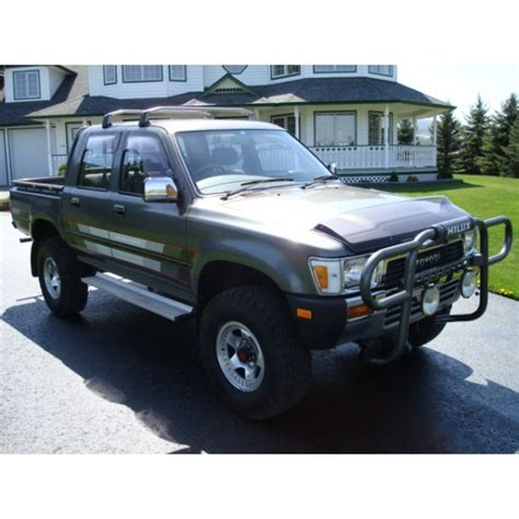 Toyota Hilux For Sale In Canada 1988 Toyota Hilux Ln106 4 Door Diesel For Sale In Bc Canada