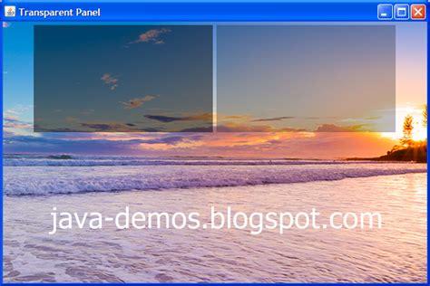 java swing background image creating transparent jpanel in swing