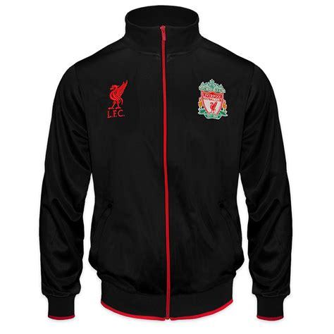 Jaket Treasked Liverpool liverpool fc official football gift mens retro track top jacket ebay