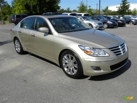 2009 chagne beige metallic hyundai genesis 3 8 sedan 49514911 gtcarlot car color