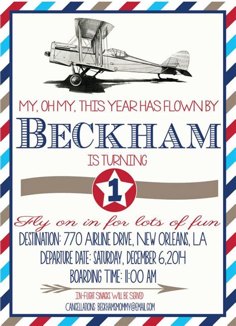 aeroplane template for birthday card 25 best ideas about vintage birthday invitations on