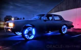 Led Lighting For Car Led Wheel Light Rings Set Of 4 Led Car Lights By
