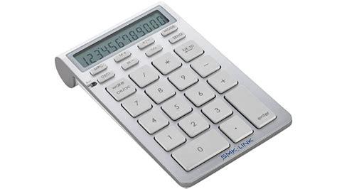 Keyboard Numeik Pad bluetooth calculator returns the number pad apple s