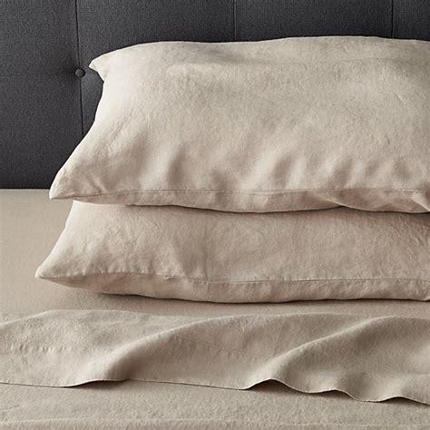 linen flat sheet sale lino flax linen flat sheet crate and barrel