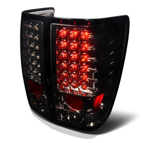 nissan titan led lights 2004 2014 nissan titan performance led tail lights smoked