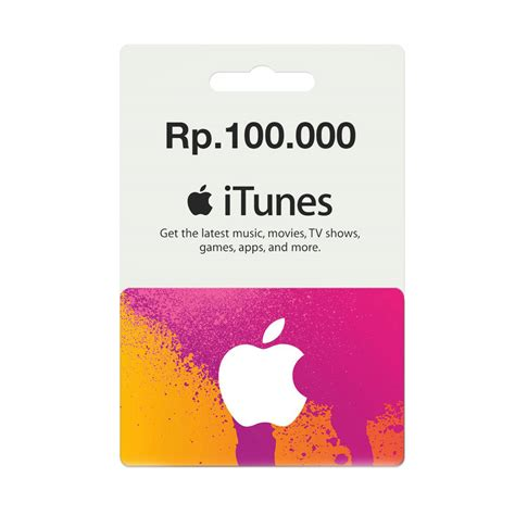 apple gift card indonesia jual itunes gift card region indonesia rp 100 ribu by