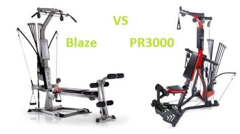 home magazine bowflex blaze vs pr3000