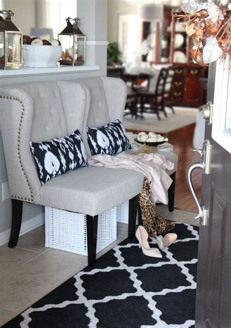 fall home decorating ideas quick and simple 183 storify neutral glam fall tour and fall decor ideas setting for four