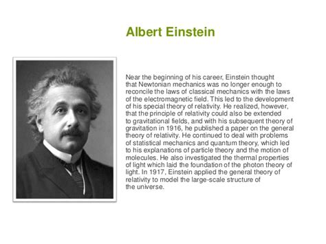write a short biography of albert einstein scientists
