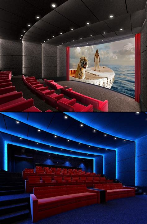 home theater lighting design tips this is a rendering of the first imax in home theater