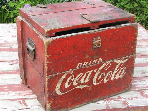 coca cola decor cardealersnearyou com wooden coca cola cooler collectors weekly