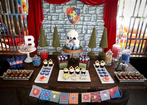 knights of the table ideas brave guest dessert feature dessert tables