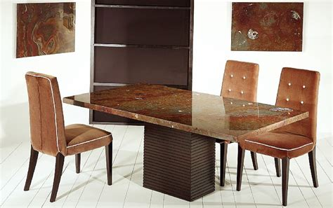 stone top dining table   TjiHome